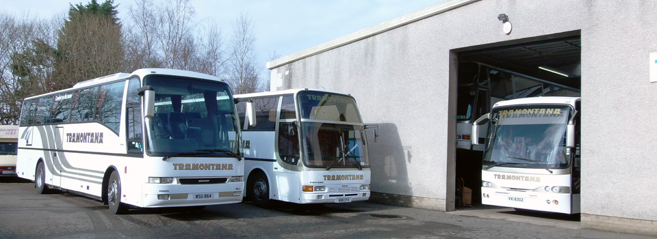 Coach Hire Motherwell | Coach Repair Centre | Tramontana Coaches Lanarkshire